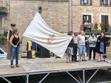 El CN Santpedor ha rebut la bandera del poble
