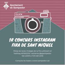 1r Concurs Instagram Fira Sant Miquel