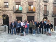 Grup de voluntaris que participen a la recreació de dissabte